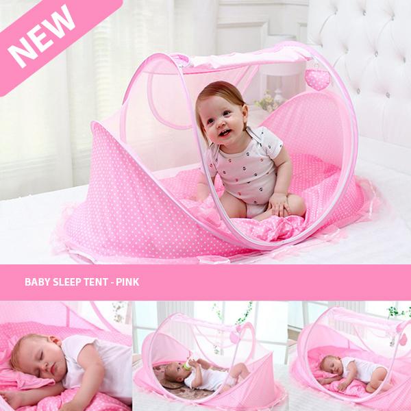 BABY SLEEP TENT - PINK