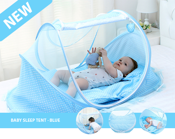 BABY SLEEP TENT - BLUE