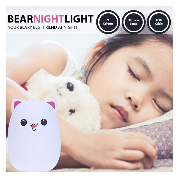 kids bear night light