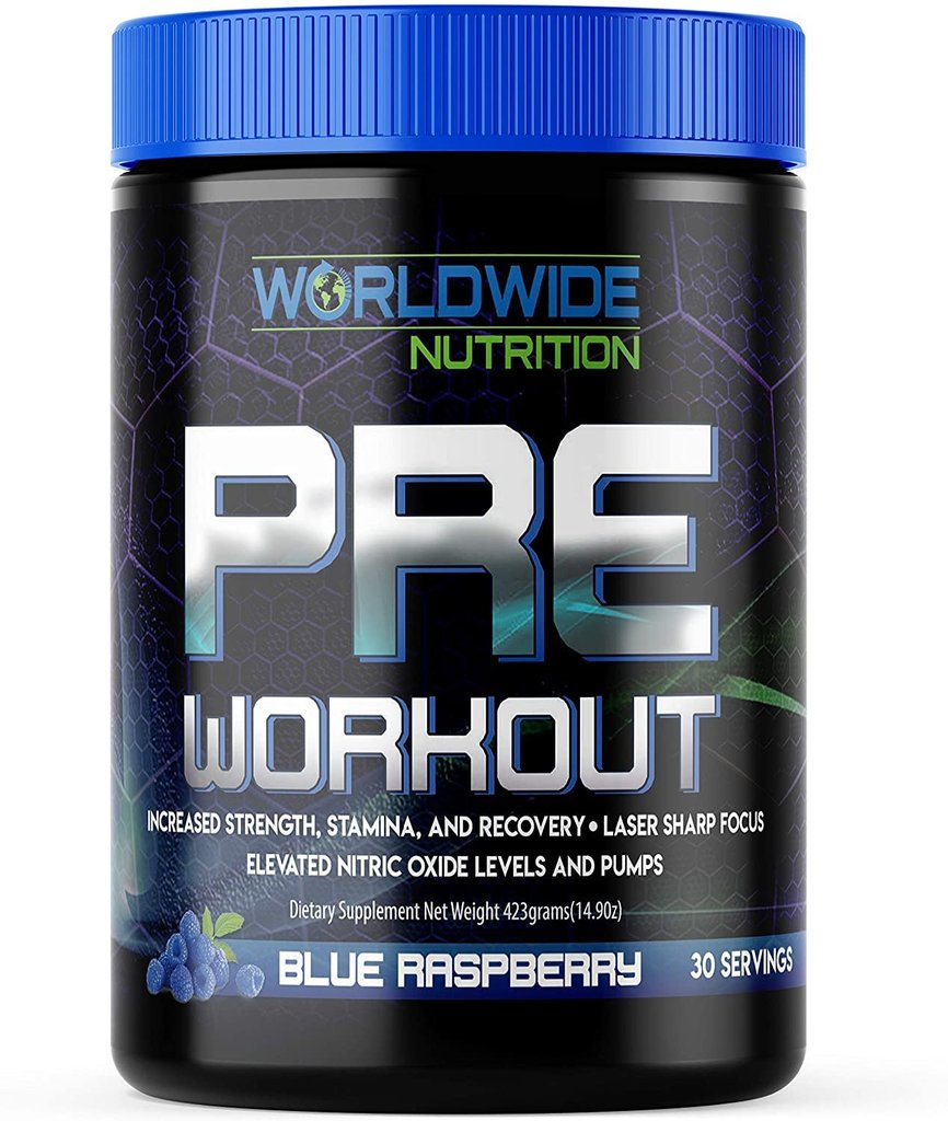 Blue Raspberry Pre Workout